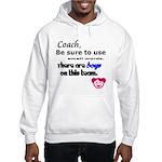 Use Small Words Hooded Sweatshirt