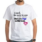 Use Small Words White T-Shirt