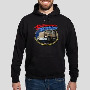 Snowman Trucking Hoodie (dark)