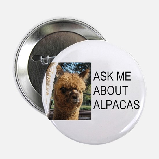 """Samsuri Alpaca Giftware 2.25"""" Button"""