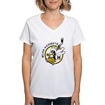 Hornets Women's V-Neck T-Shirt