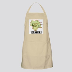 Yorkshire Map Apron