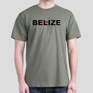 Love Belize Dark T-Shirt