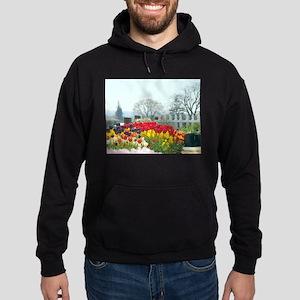 Simply tulips Hoodie (dark)