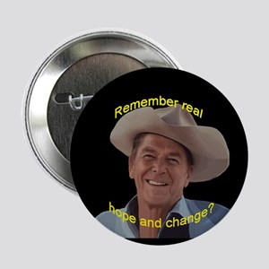 "Reagan Remember Real Hope 2.25"" Button"