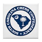 South Carolina Chess Confederacy Tile Coaster