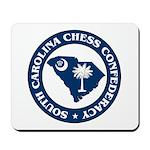 South Carolina Chess Confederacy Mousepad