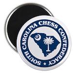 South Carolina Chess Confederacy Magnet