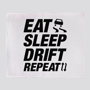 Eat Sleep Drift Repeat Stadium Blanket