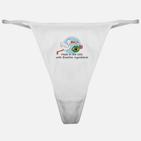 Stork Baby Brazil USA Classic Thong
