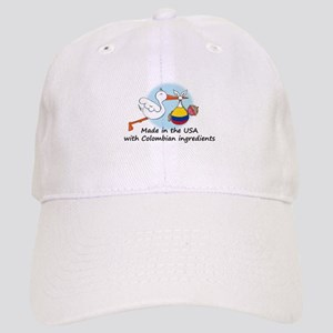 Stork Baby Colombia USA Cap