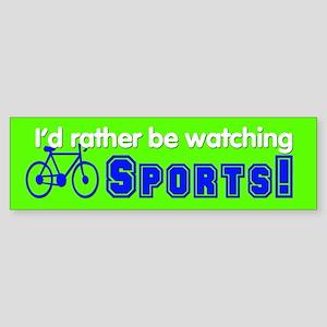 Sports (13) Sticker (Bumper)