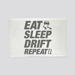 Eat Sleep Drift Repeat Rectangle Magnet