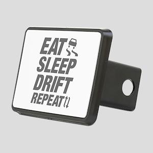 Eat Sleep Drift Repeat Rectangular Hitch Cover