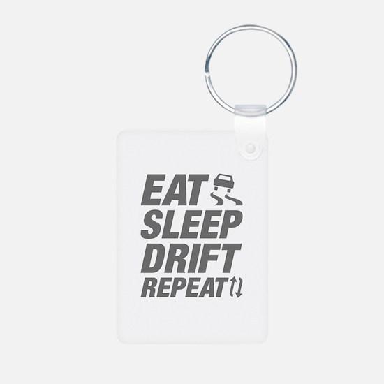 Eat Sleep Drift Repeat Keychains
