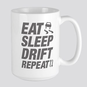 Eat Sleep Drift Repeat Large Mug