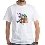 Banana Tail Group T-Shirt (white)