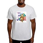 Banana Tail Group T-Shirt (ash grey)