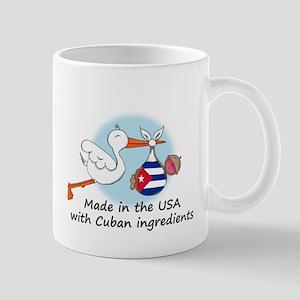 Stork Baby Cuba USA Mug