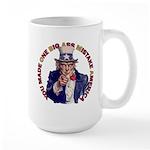 You Made O B A M A Large Mug