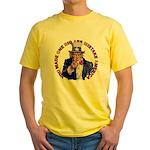 You Made O B A M A Yellow T-Shirt