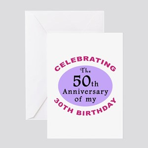 Funny 80th Birthday Gag Greeting Card