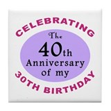 70th birthday idea Coasters