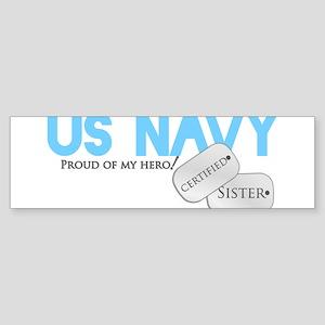 Certified Sister Sticker (Bumper)