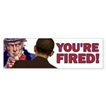 You're Fired Sticker (Bumper 10 pk)