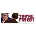 You're Fired Sticker (Bumper)