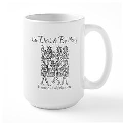Eat Drink Be Merry 1 Large Mug