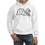 Joshua Trees and Intersection Hooded Sweatshirt