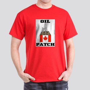 Canada Oil Patch Dark T-Shirt,Canadian,Oil