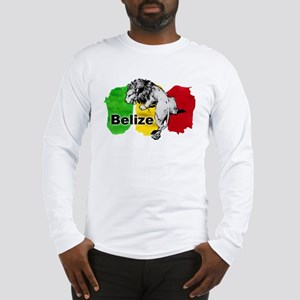 Belize Lion Long Sleeve T-Shirt