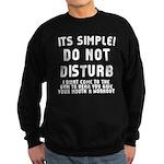 DO NOT DISTURB Sweatshirt (dark)