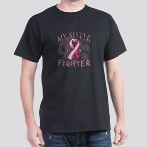 My Sister Is A Fighter Dark T-Shirt