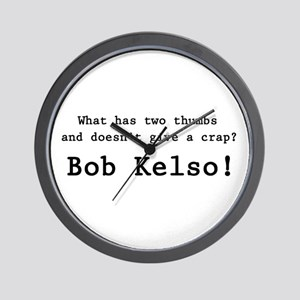 'Bob Kelso!' Wall Clock