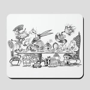 Alice's Unbirthday Party Mousepad
