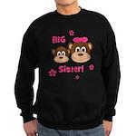 I'm The BIG Sister - Monkey Sweatshirt (dark)