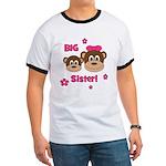 I'm The BIG Sister - Monkey Ringer T