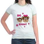 I'm The BIG Sister - Monkey Jr. Ringer T-Shirt