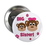 "I'm The BIG Sister - Monkey 2.25"" Button"