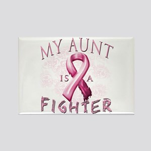 My Aunt Is A Fighter Rectangle Magnet