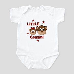 I'm The Little Cousin! Monkey Infant Bodysuit