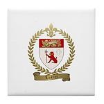 LOSIER Family Crest Tile Coaster