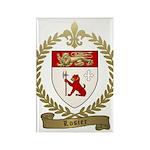 LOSIER Family Crest Rectangle Magnet (100 pack)