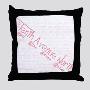 Tenth Avenue North Throw Pillow