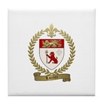 LOZIER Family Crest Tile Coaster