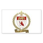 LOZIER Family Crest Sticker (Rectangle 10 pk)