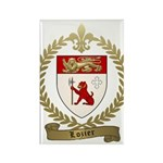 LOZIER Family Crest Rectangle Magnet (100 pack)